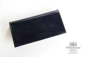 ホワイトハウスコックス|WHITEHOUSE COX|長財布|ロングウォレット|S1799 LONG WALLET|NAVY×YELLOW
