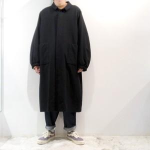 NO CONTROL AIR 【ノーコントロールエアー】 Camel wool Mat worsted Long Coat