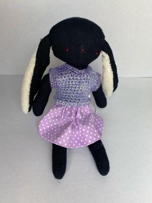 着せ替え人形黒うさぎu684