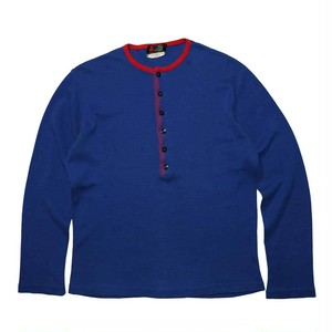 """""""Tha MAN AT CAS """"  Cotton Henry Neck L/S Tee"""