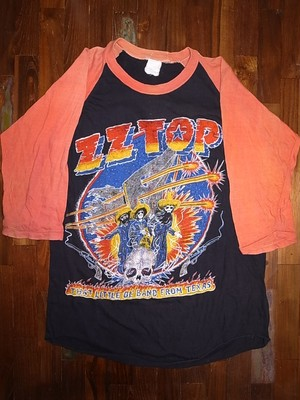 ZZ TOP 80'S WORLD TOUR T-SHIRTS