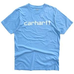 USED Carhartt S/S tee - light blue