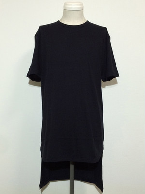 TAIL SHORT SLEEVES -BLACK-