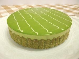 15cm   プレミアムホールケーキ・「テ・ヴェール」★抹茶大好きな方、和テイストがお好みの方、抹茶のお菓子のイメージが変わります!