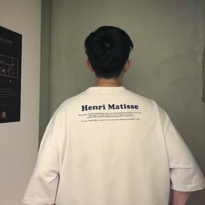 取り寄せ商品:ドロップショルダーTシャツ