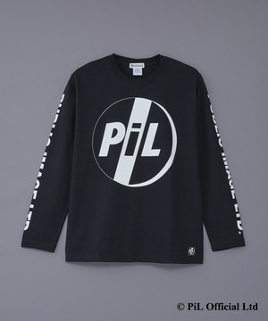 PiL ×deadman LOGO LST-shirts BLACK