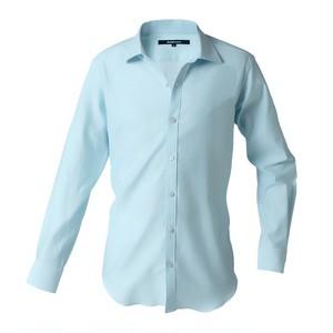DJS-777 decollouomo メンズドレスシャツ 長袖 overture - ライトブルー