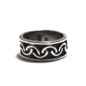 Vintage Sterling Silver Mexican Geometric Ring