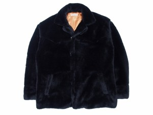 FUR JKT BLACK