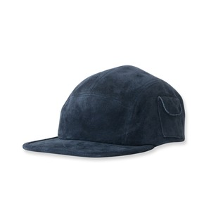 【SON OF THE CHEESE】Suede cap(NAVY)