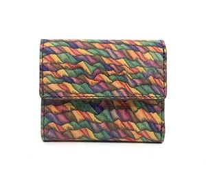 MAGNET Three Fold Compact Wallet Mosaic