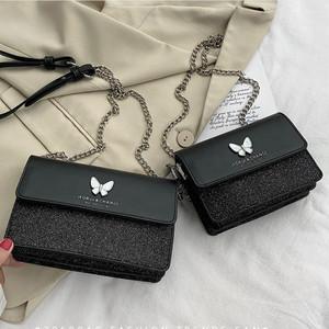 【バッグ】韓国系 ファッション カジュアル バタフライ 斜め掛け ボディバッグ31902367