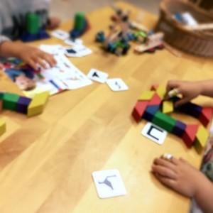 【4歳からのおもちゃ】アンカー社 パターンモザイク (COLOROS)