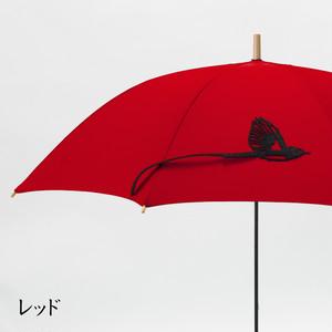 【ミクロチュン特典】tail サンコウチョウの傘 レッド