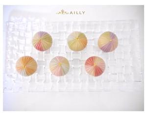 上生菓子【カラフル手毬】梅餡と桜餡の4点詰め合わせ