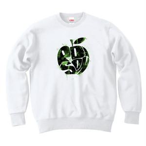 [スウェット] 毒リンゴ / white