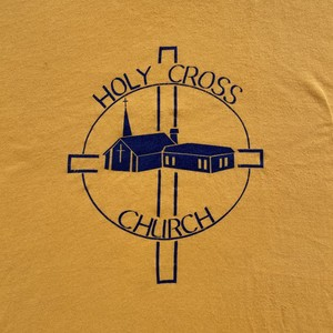 90's sportwear | CHURCH tee (V0814M)