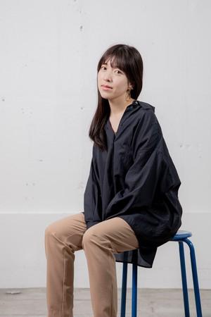 シアービッグシルエットシャツ / NAVY【alcée】