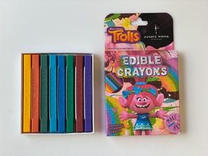 トロールズエディブルクレヨン:ポピー  Trolls Edible Crayon: Poppy