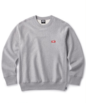 FTC / SMALL BOX LOGO CREW NECK -GRAY-