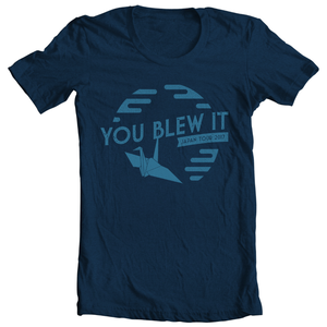 You Blew It Japan Tour Tee