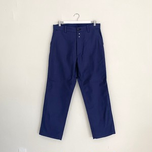 LE SANS PAREIL MOLESKIN WORK PANTS-NAVY-