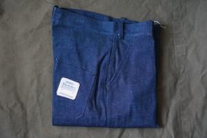 40s US デッドストック デニムトラウザー Montgomery word denim trousers W30