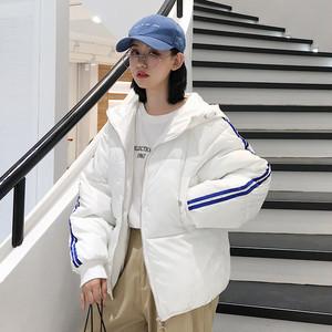 【outer】ダウンコート通学ファッションコットン入りレディースコート