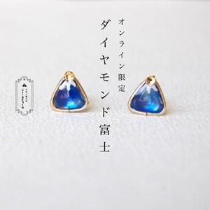 WEB限定 ▶ ダイヤモンド富士ピアス  【樹脂ピアス / イヤリング】