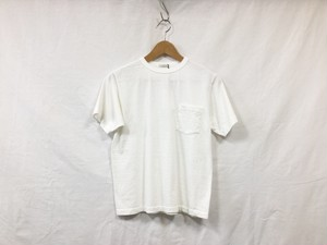 "LENO "" POCKET TEE "" WHITE"