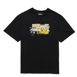 CHRYSTIE NYC / MONSTERS T-SHIRT -BLACK-
