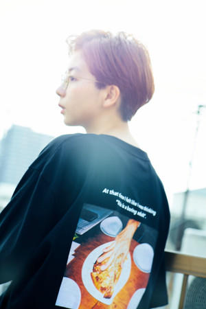 "【WEB受注 〜6/23まで】""A LITTLE TOO SERIOUS"" SUB CULTURE ELITE tee"