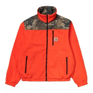 Carhartt DENBY REVERSIBLE JACKET - Camo Combi / Safety Orange  SIZE S