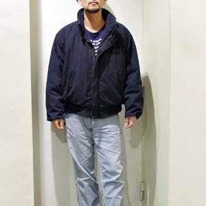 '00s US NAVY DECK JACKET With Stencil / USN アラミド デッキ ジャケット ステンシル入り