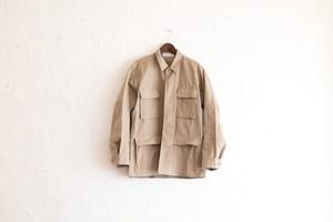 MCWオリジナル ミリタリーシャツジャケット