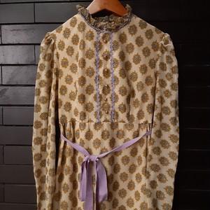 Vintage paisley pattern dress  ヴィンテージペイズリー柄ワンピース