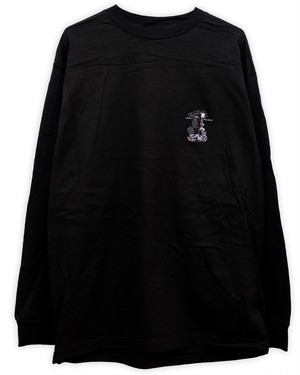 SLOW SQUAD embroidery Long Sleeve T