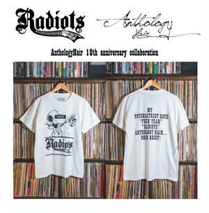[予約商品] RADIOTS×AnthologyHair  T-shirts / White...