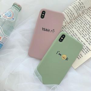 【小物】アルファベットシンプルiPhone8plus/x/XS Max/XR/iPhoneX/7p/6/6sスマホケース