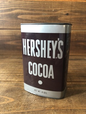 HERSHEY'S COCOA TIN CAN SMALL/ハーシーズ ココア 缶 ビンテージ