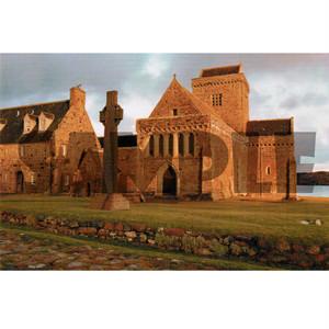 スコットランド風景ポストカード【アイオナ修道院】Colin Baxter 90121-S334