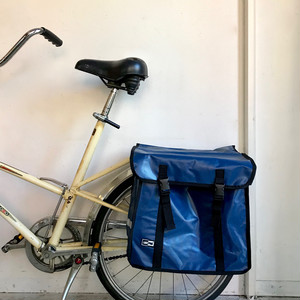 """LASTPAK"" Bicycle Side Bag / BLUE オランダ 46L"