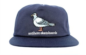 ANTIHERO PIGEON EMB SNAPBACK CAP NAVY スナップバックキャップ アンチヒーロー