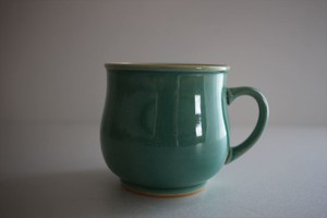 松岡賢司(平安楽堂)|トルコ青 マグカップ
