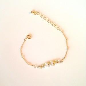 Bracelet / つぶつぶビーズブレスレット