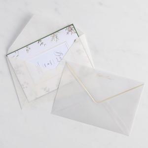 トレーシングペーパー封筒(洋1)お試しサンプルセット