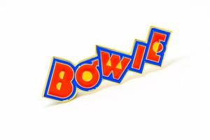 "Rockinpins""David Bowie 'Pin Ups' Logo"""