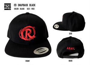 (R) SNAPBACK BLACK