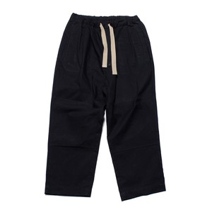 Enharmonic TAVERN Wide Easy Pants N/C Oxford -black <LSD-AH3P1-A>