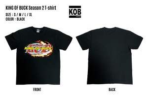 KING OF BUCK Season 2 T-shirt